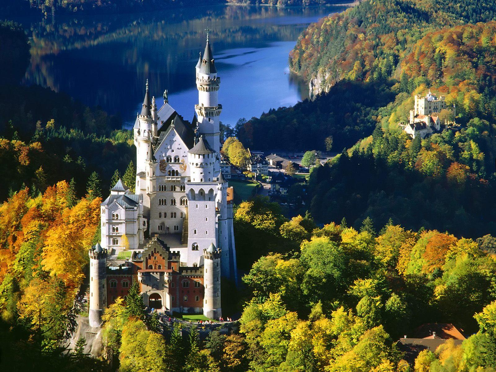 Dvorac Neuschwanstein nemačka
