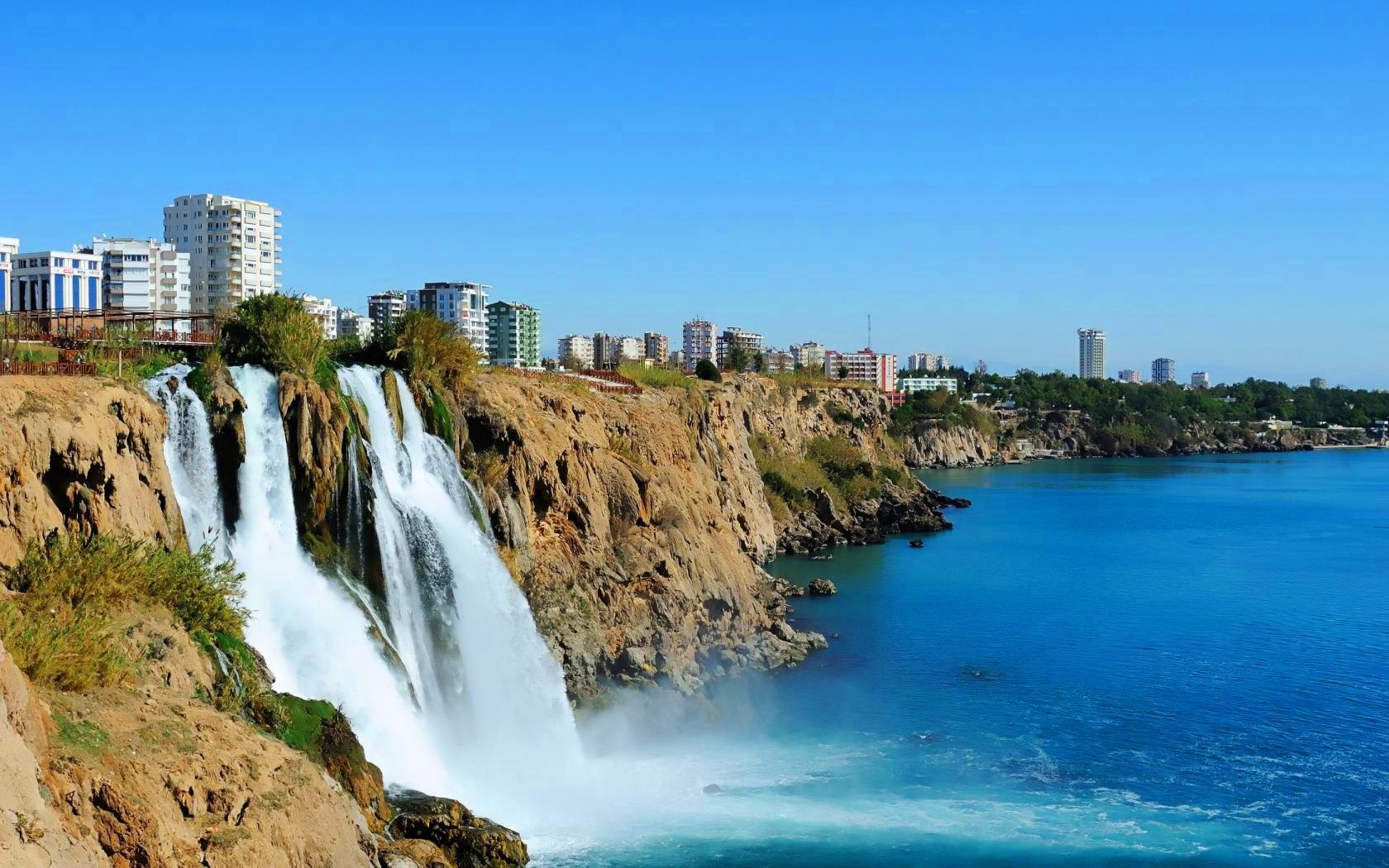 vodopadi antalija turska