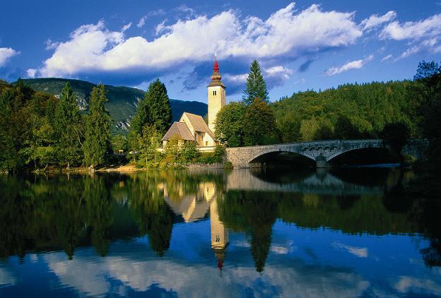 nacionalni park triglav crkva bohinj