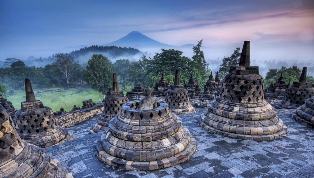 Borobudur Borobodur indonezija