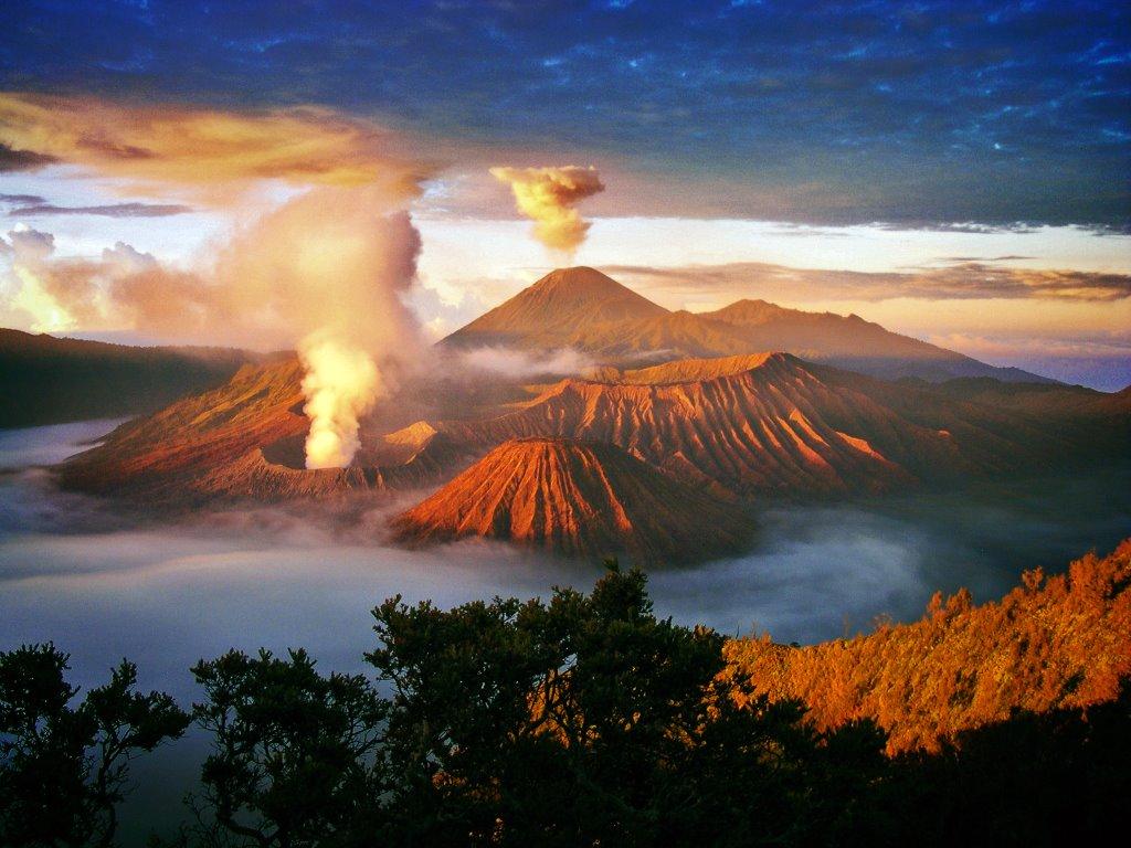 planina bromo indonezija