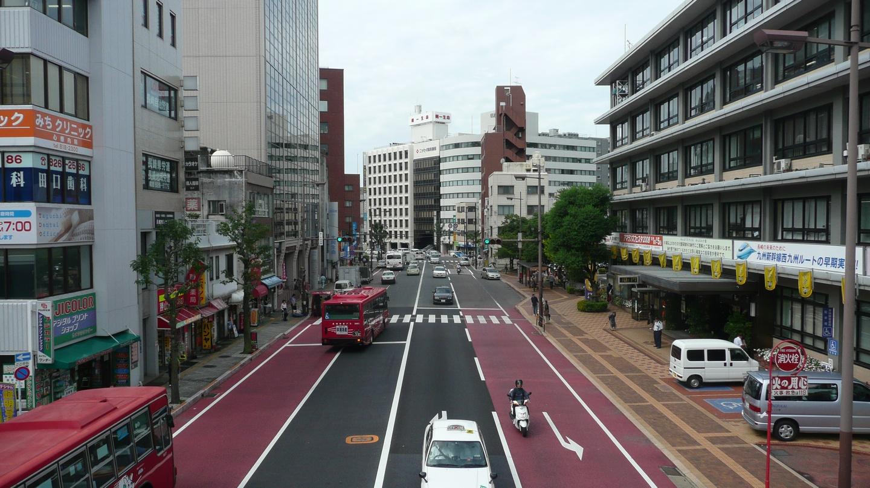 nagasaki street japan city